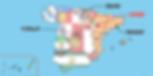 サラゴサの位置-地図