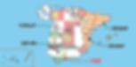 マラガの位置-地図