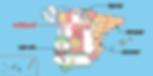 マドリッドの位置-地図