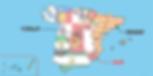 トレドの位置-地図