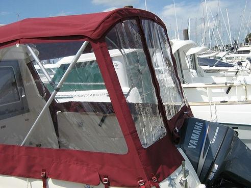taud protection soleil bateau Leucate vo