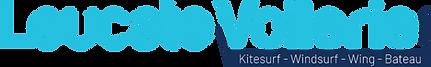 Logo Leucate voilerie kitesurf windsurf