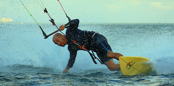 Barre kitesurf bridage aile kitesurf