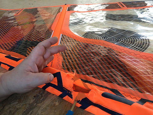 1 Fourreau mat rapé windsurf avant leuca