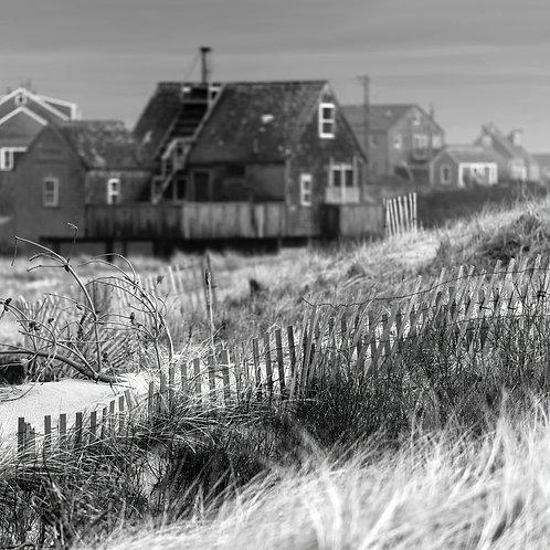 Stilt House Behind the Dunes