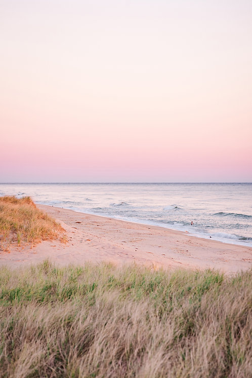 Pink Sunset at Invisible Beach