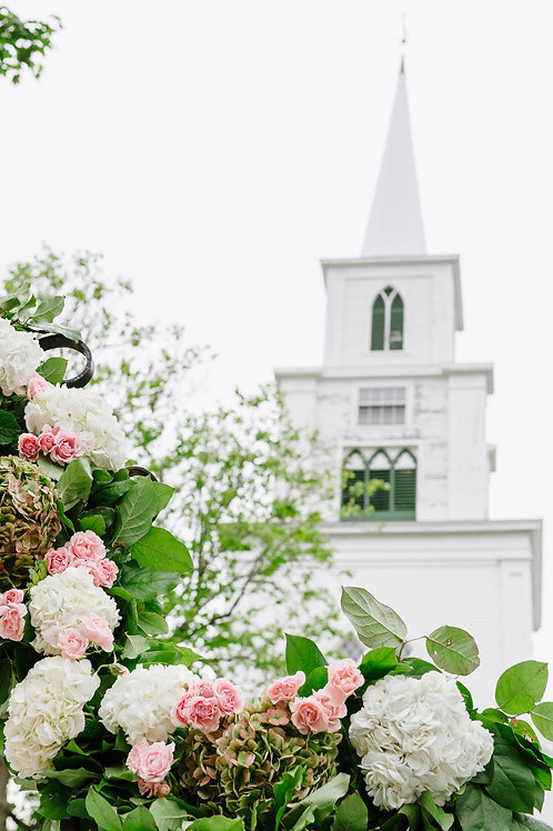 First Congregational Church Wedding
