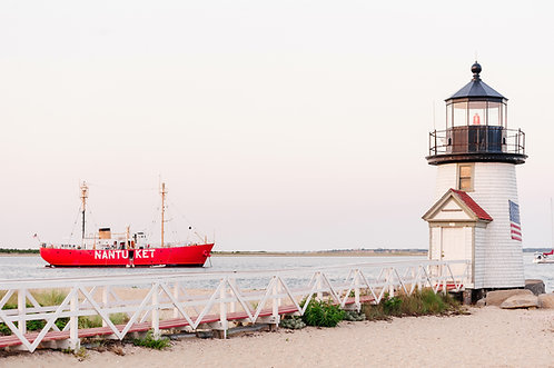 Nantucket Lightship at Brant Point 2