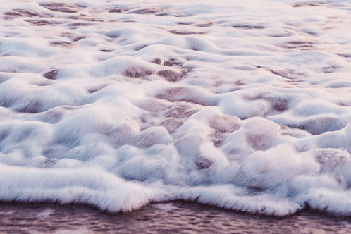 Slow Motion Sunset Waves