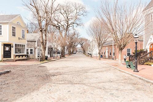 Deserted Federal Street