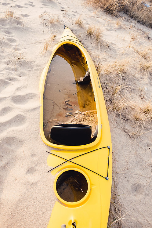 Buried Kayak 1
