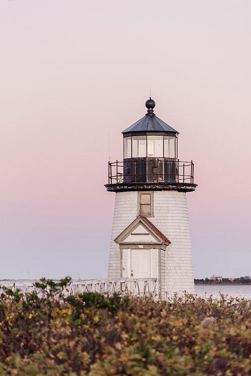 Brant Point Lighthouse at Dusk
