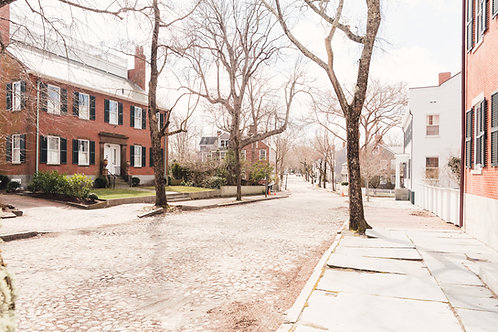 Empty Upper Main Street