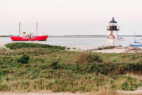 Nantucket Lightship at Brant Point 1