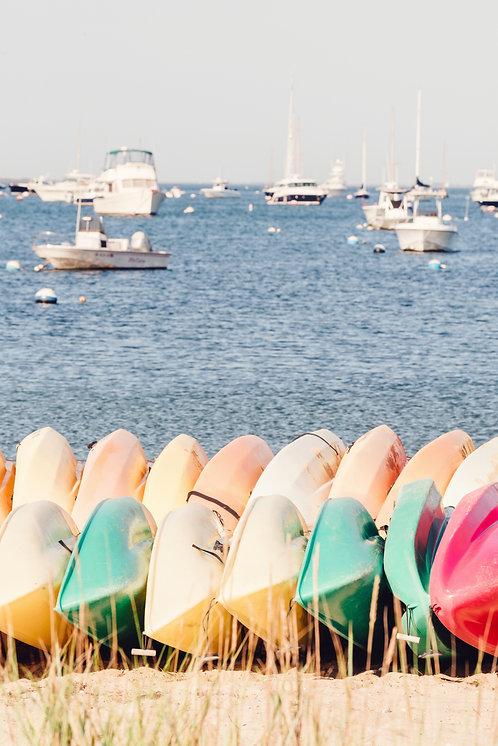 Kayaks on the Harbor