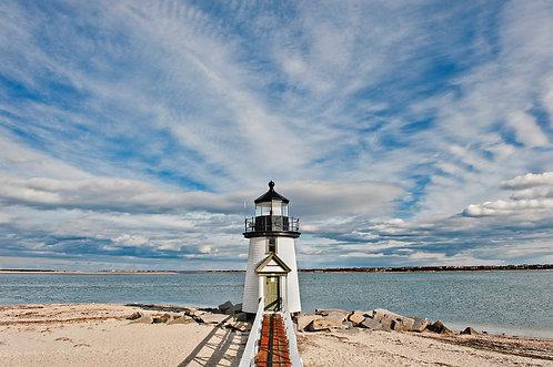 Big Sky over Brant Point Lighthouse