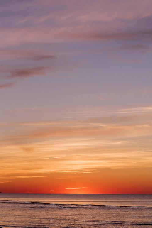 Sunset at Washing Pond Beach