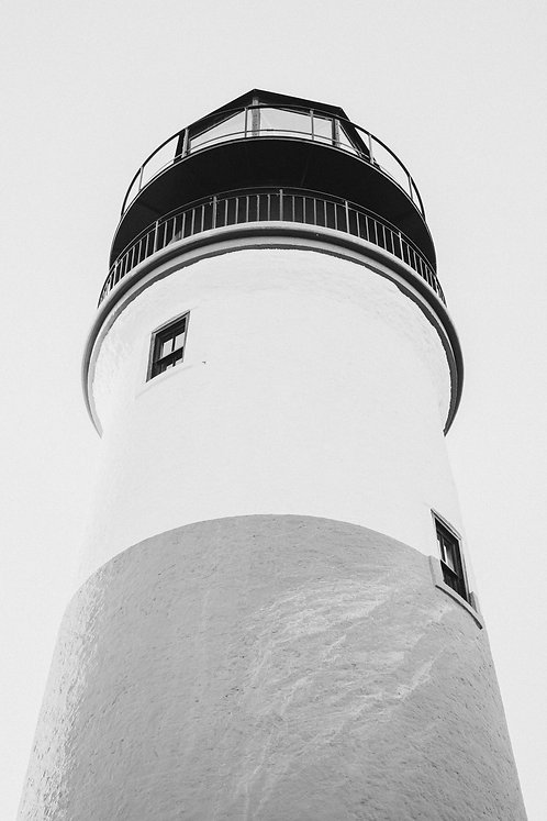 Sankaty Head Light Detail 1 BW