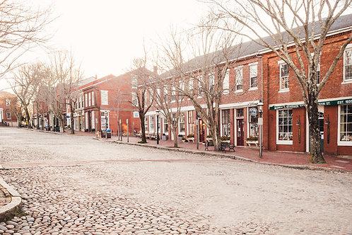 Empty Main Street Nantucket 2
