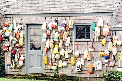 Buoy Covered Cottage