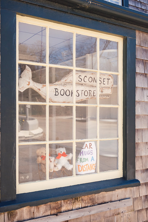 Bear Hugs from a Distance at Sconset Bookstore