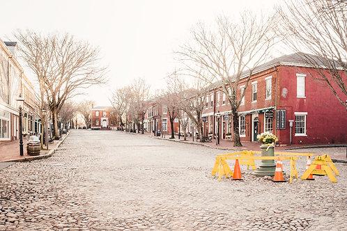 Empty Main Street Nantucket 4