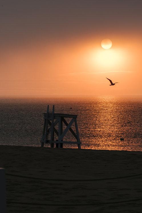 Cliffside Beach Sunset