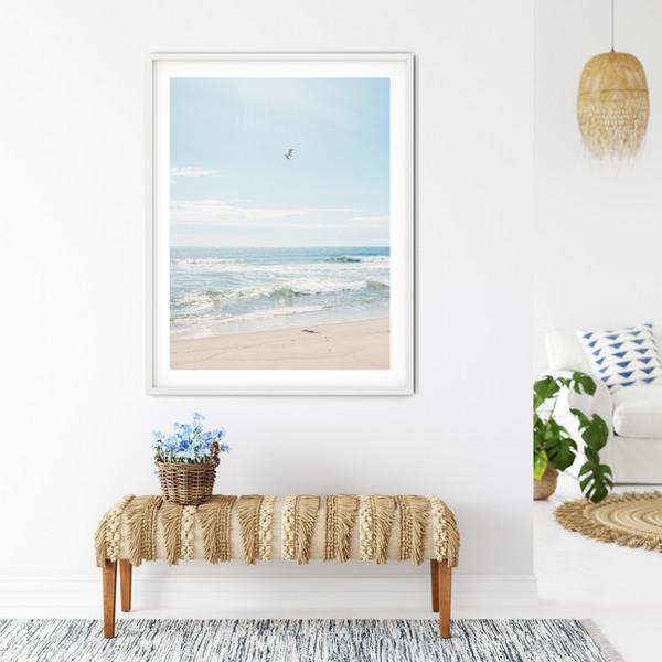 Nantucket Beach Photography Framed Art