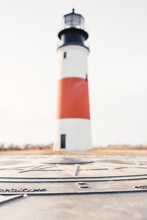 Sankaty Head Lighthouse Compass