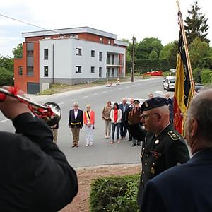 Commémoration du 8 mai à Loverval