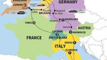 Budget Travel via EUROSTAR in Europe