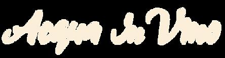 Acqua in Vino Beige Logotype.png