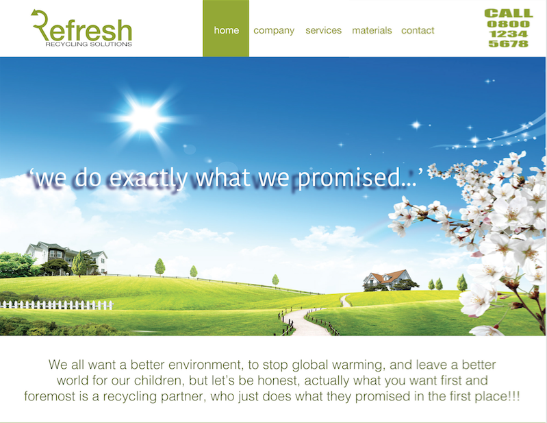 Refresh Website