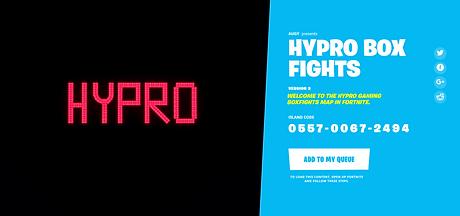 Hypro BoxFights