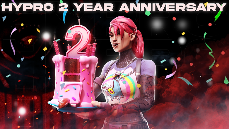 Hypro 2 Year Anniversary Poster