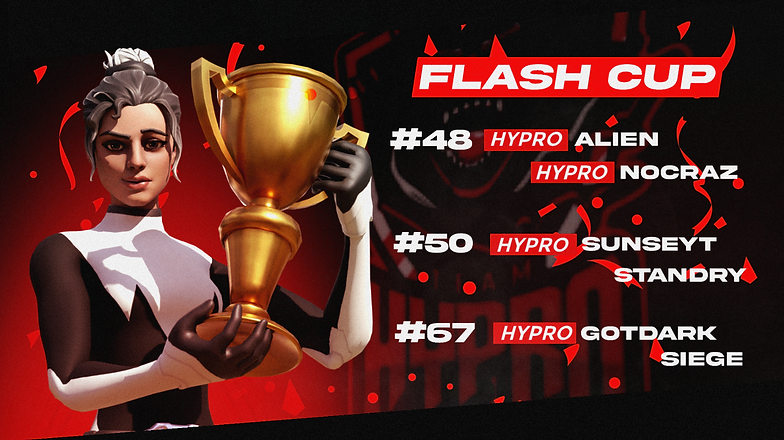 Flash Cup February 10th, 2021 Poster