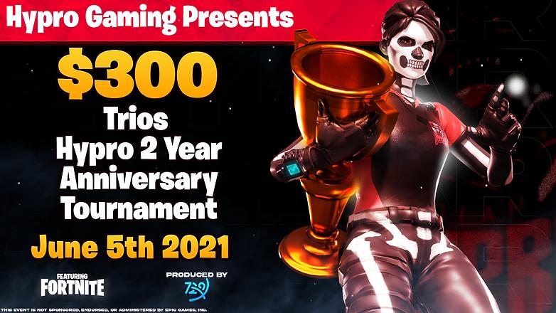 Hypro 2 Year Anniversary Tournament Poster
