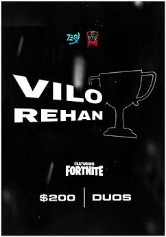 Vilo & Rehan Cup Poster