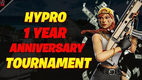 Hypro 1 Year Anniversary Tournament Post