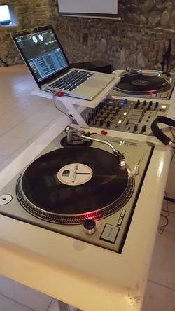 Regi DJ vinyls