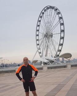 Running in Baku