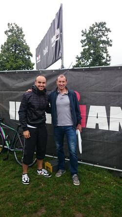 With the legend Luc Van Lierde