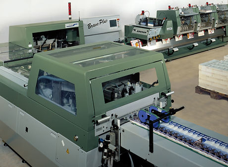 We offer saddle stitching services to the print industry, heres the machinery we use.