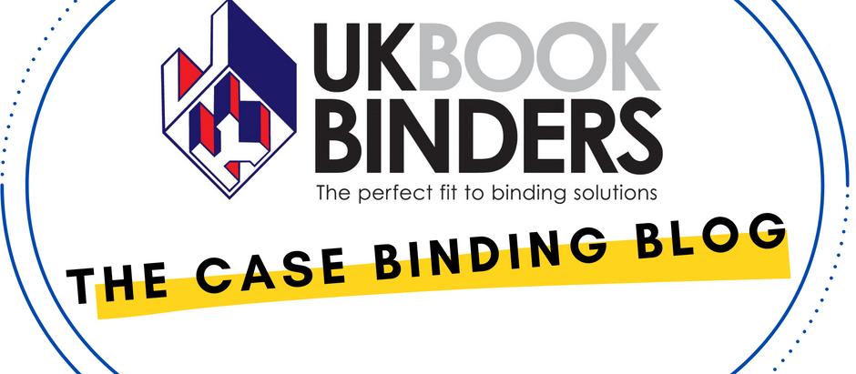 We've got case binding in-house at UK Book Binders!