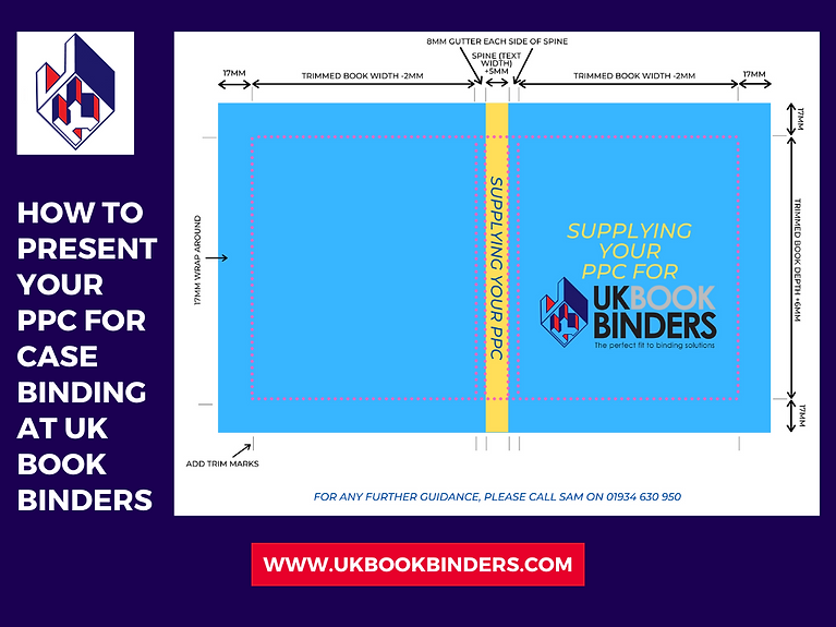 Case binding at UK Book Binders How to s