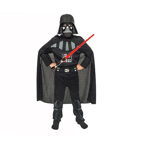 Disfraz Darth Vader Deluxe Star Wars Originales Con Sable Luz y Sonido