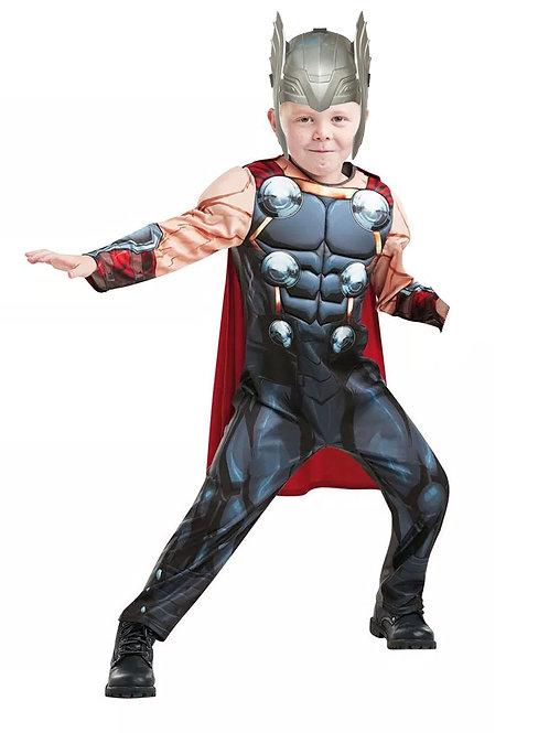Disfraz Thor Con Musculos Original y Casco