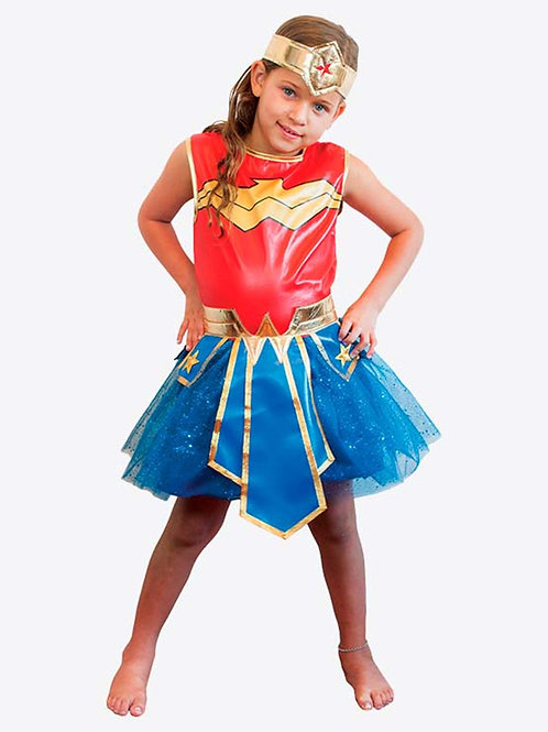 Disfraz Mujer Maravilla Deluxe - Wonder Woman Original DC