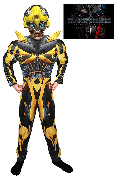 Disfraz Transformers Bumblebee con Musculos