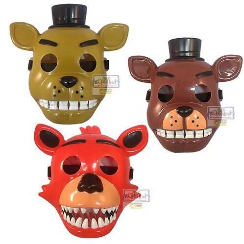 Pack X 3 Mascaras Five Night At Freddy Excelentes